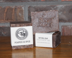 Parham Farms Pumpkin and Spice Goat Milk Soap